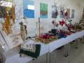 Verkaufsstand am Adventsbasar