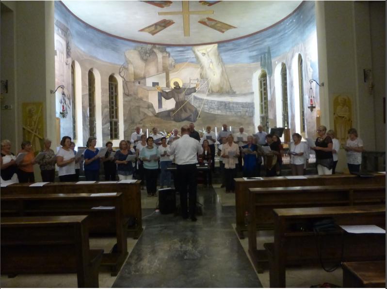 Singwochenkonzert in St.Franziskus