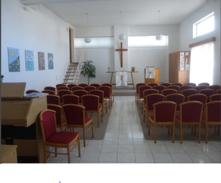 unser Gottesdienstraum